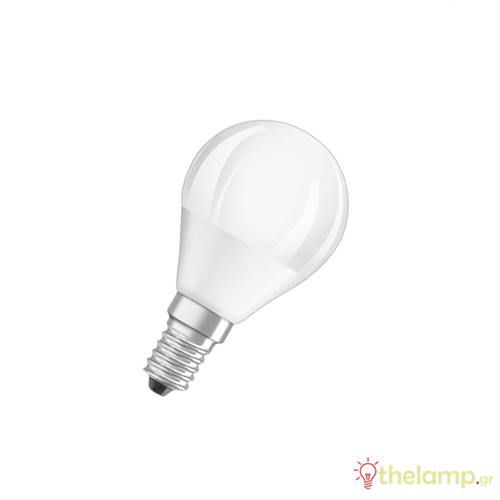 Led γλομπάκι P40 5.5W E14 220-240V warm white 2700K Classic dimmable Osram