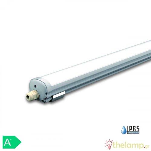 Φωτιστικό led αδιάβροχο 18W 240V 120° day light 6000K 6282 VT-6076 IP65 V-TAC