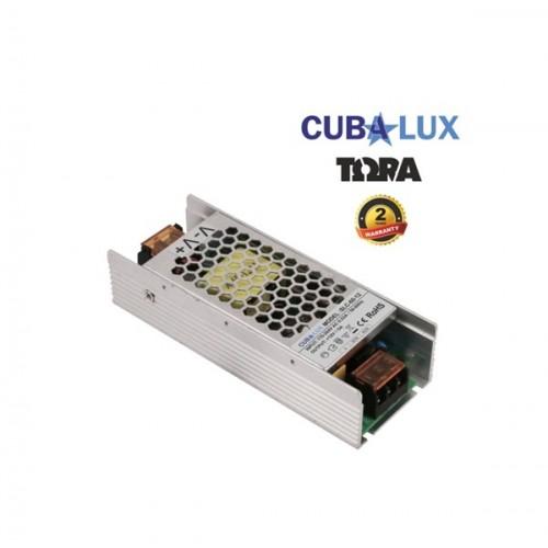 Τροφοδοτικό 176-264V->12V DC 5A 60W για Led ταινία IP20 TΩRA Cuba Lux