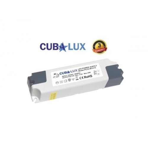 Led ταινία 24V 6W 30led day light 6000K με αυτοκόλλητο TΩRA IP65 Cuba Lux