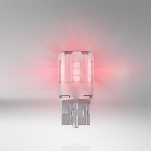 Osram Led 12V 3W W3x16q W21/5W κόκκινο LEDriving Standard DUO blister 7715R-02B