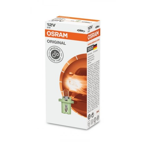 Osram 12V 2W BX8.5d original 2722MFX