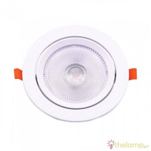 Led downlight 20W 85-240V 120° day light 6400K στρόγγυλο Samsung chip 844 VT-2-20 V-TAC