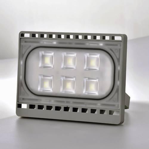 Προβολέας led 20W 12V day light 6000K ασημί FLU20W-DW
