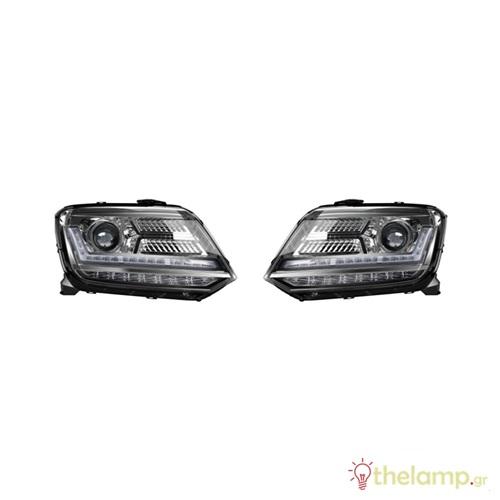 Φανάρι αυτοκινήτου Led 12V 55W black edition VW Amarok LEDriving LEDHL107-BK LHD Osram
