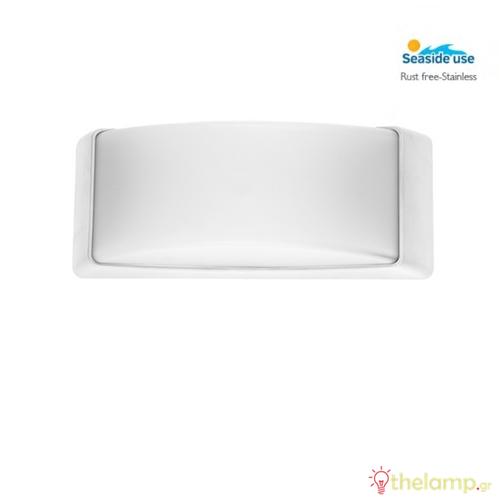 Φωτιστικό τοίχου εξωτερικού χώρου λευκό 1xE27 220-240V Φos_me