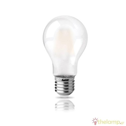 Led κοινή filament A60 9W E27 220-240V ματ cool white 4000K Φοs_me