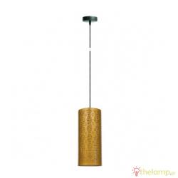 Φωτιστικό κρεμαστό μεταλλικό E27 240V χρυσό 03118PE/GD