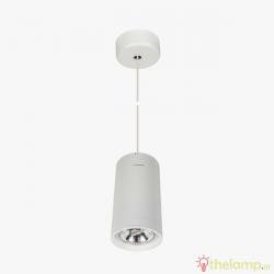 Φωτιστικό κρεμαστό αλουμίνιο GU10 R111 240V λευκό 04053PE/W/L