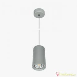 Φωτιστικό κρεμαστό αλουμίνιο GU10 R111 240V γκρι 04053PE/G/L
