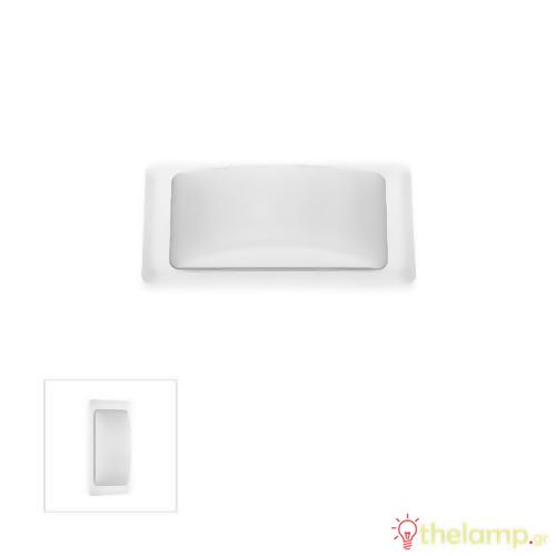 Φωτιστικό τοίχου εξωτερικού χώρου λευκό 2xG9 220-240V Φos_me