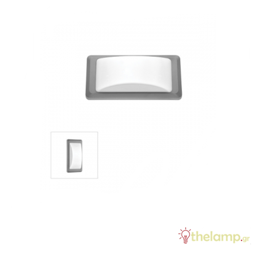 Φωτιστικό τοίχου εξωτερικού χώρου γκρι 2xG9 220-240V Φos_me