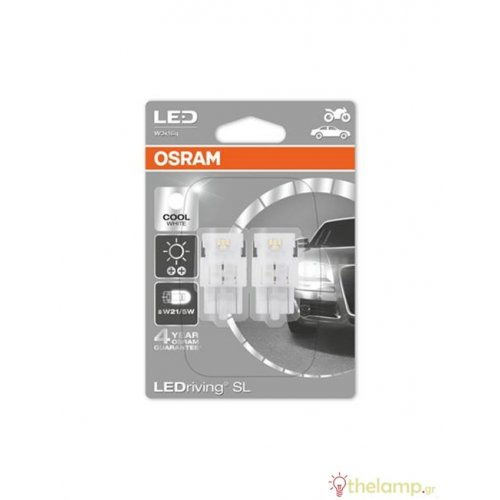 Osram Led 12V 2.0/0.40W W3x16q W21/5W day light 6000K LEDriving Standard DUO blister 7716CW-02B